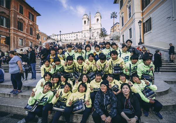 Osaka Toin High School - Rome/Naples 2018